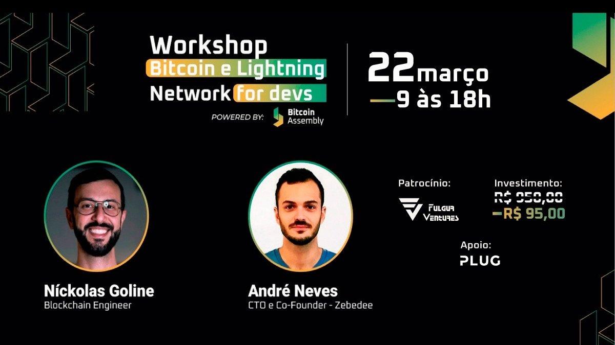 [Remarcado] Workshop - Bitcoin e Lightning Network for Devs
