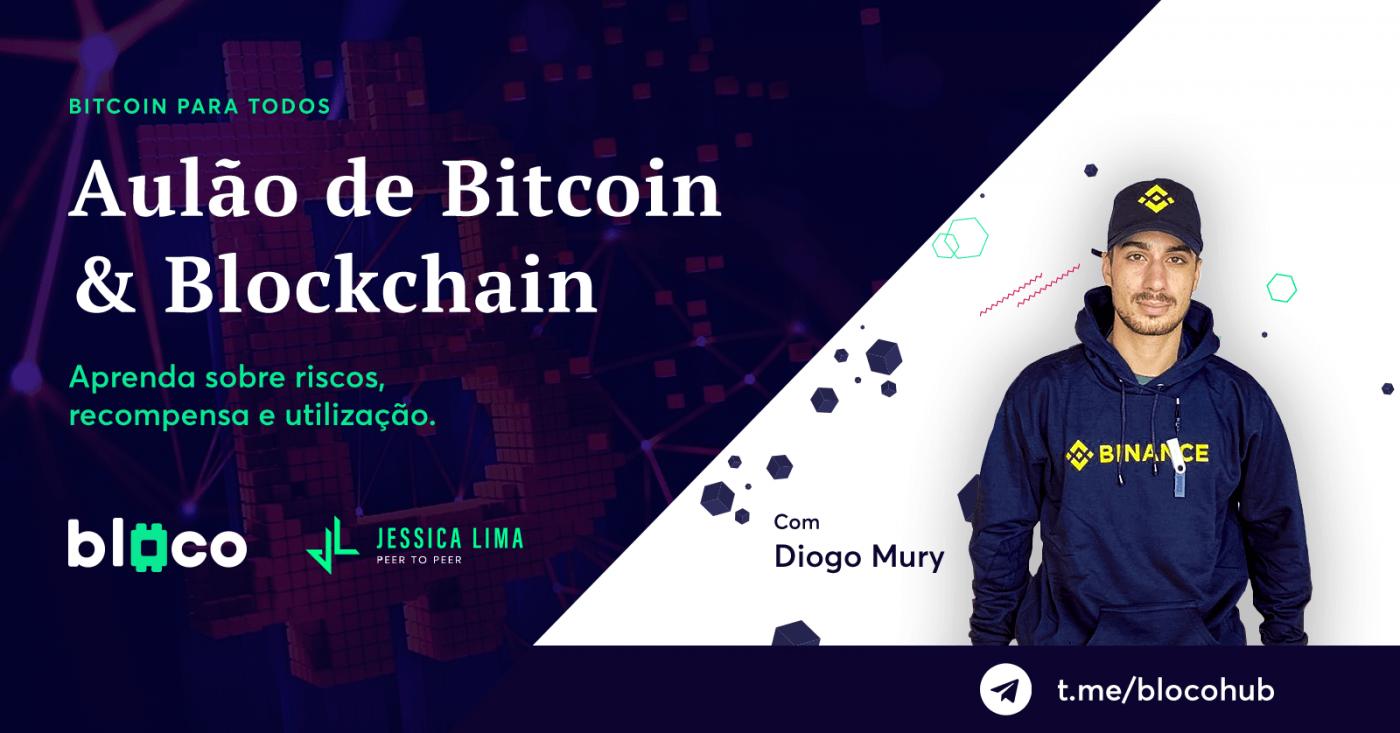 Aulão de Bitcoin & Blockchain
