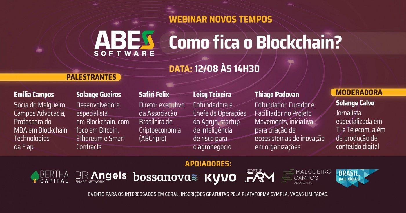 ABES NOVOS TEMPOS: Como fica o blockchain?