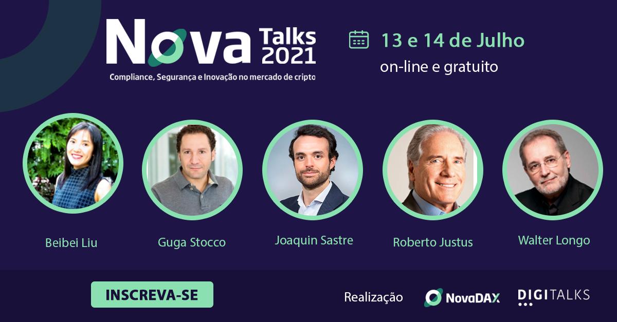 NovaTalks 021 | Compliance, Segurança e Inovação no mercado de cripto