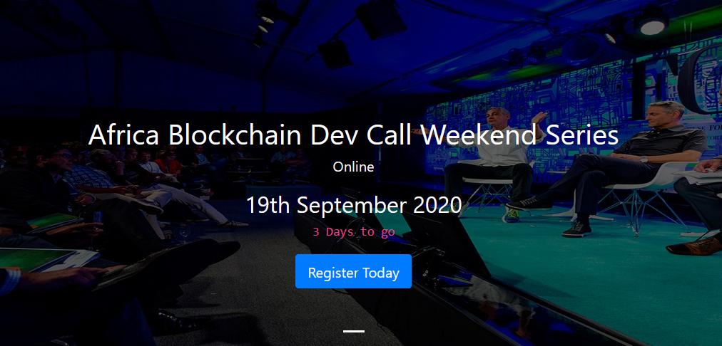 Africa Blockchain Dev Call Weekend Series
